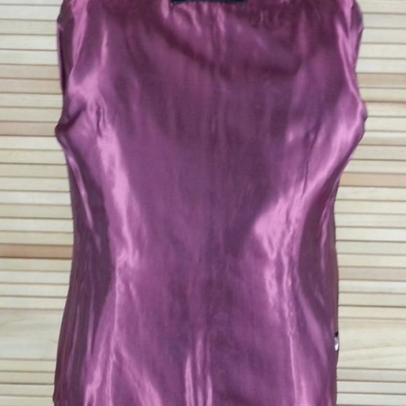 Vintage 90s lambskin leather black mens coat Croft /& Barrow size M medium chest 44